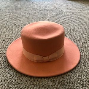 Lack of Color Sunset Palms Boater Hat Size Small